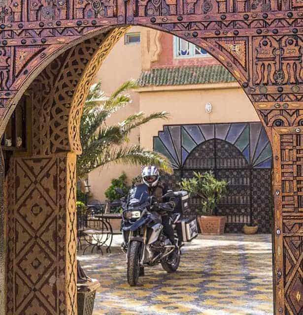 viaje organizado en moto marruecos