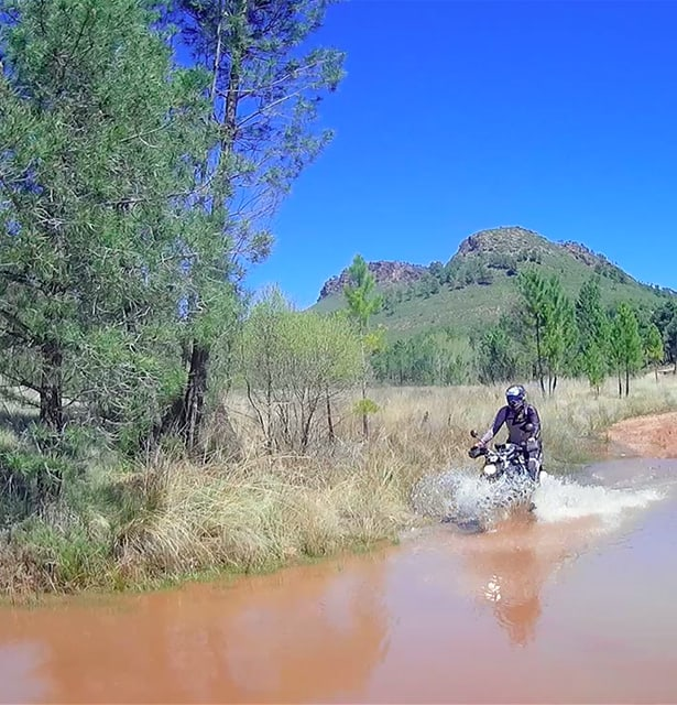 Viaje Organizado en moto por España 100% Offroad