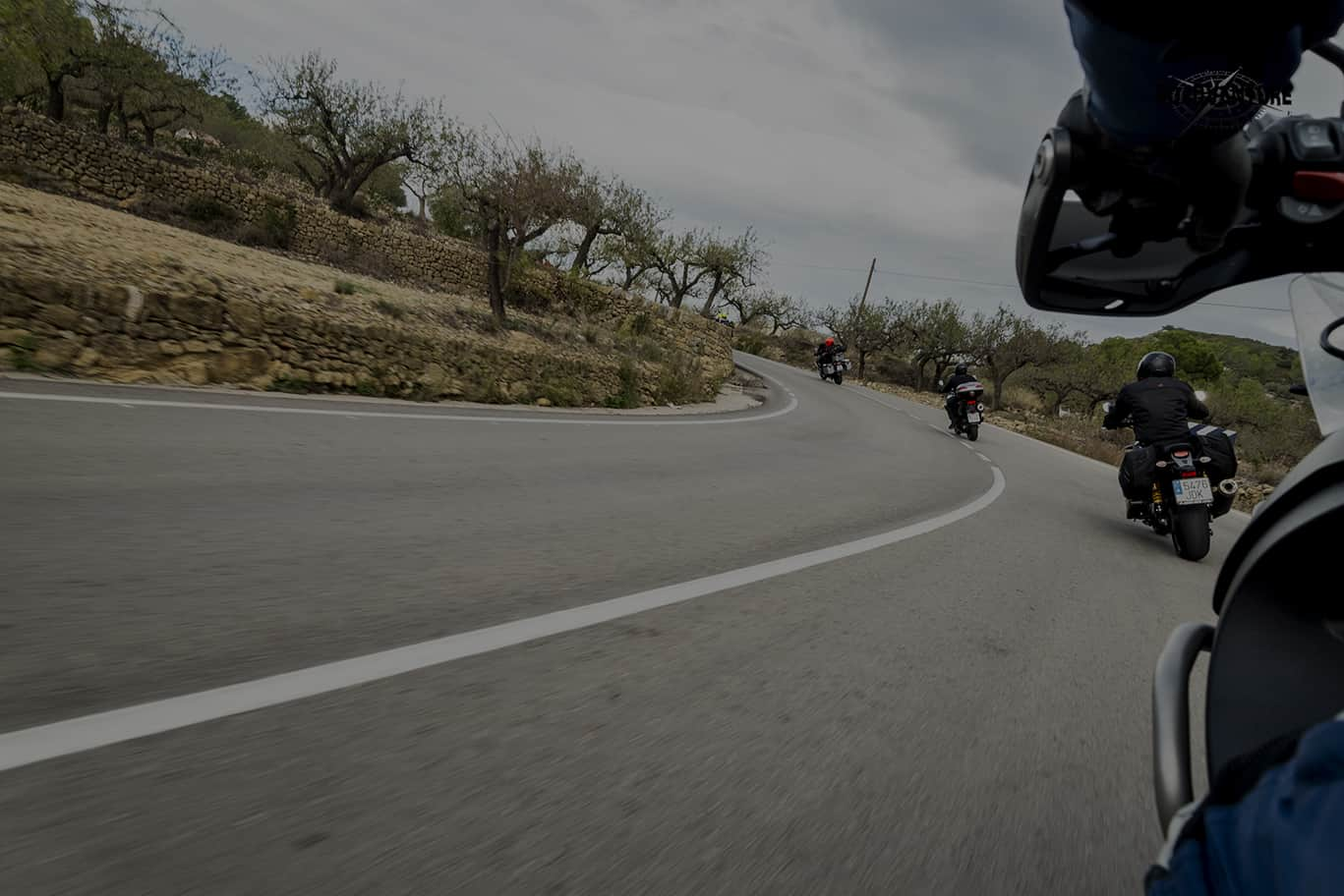 Viaje en moto organizado por el Norte de España