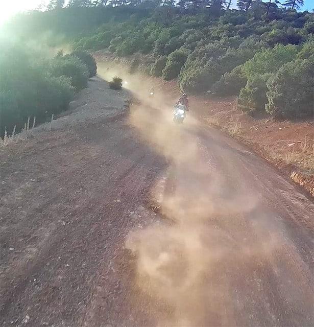 Viaje organizado en moto Trail por Portugal